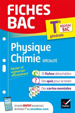 Physique chimie spécialité terminale générale : nouveau bac