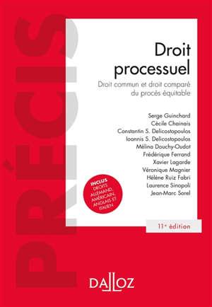 Droit processuel : droit commun et droit comparé du procès équitable