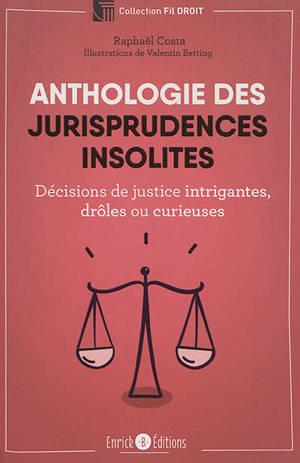 Anthologie des jurisprudences insolites : décisions de justice intrigantes, drôles ou curieuses