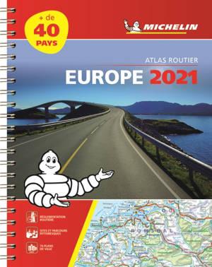 Europe 2021 : atlas routier et touristique = Europe 2021 : tourist and motoring atlas = Europa 2021 : Strassen- und Reiseatlas