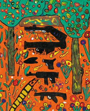 Dessins d'enfants et violences de masse : déflagrations : exposition, Marseille, Musée des civilisations de l'Europe et de la Méditerranée, du 28 janvier au 2 mai 2021