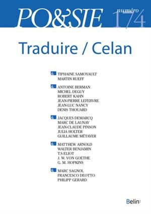 Poésie. n° 174, Traduire. Celan