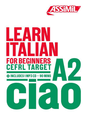 Learn Italian : for beginners, CEFRL target A2