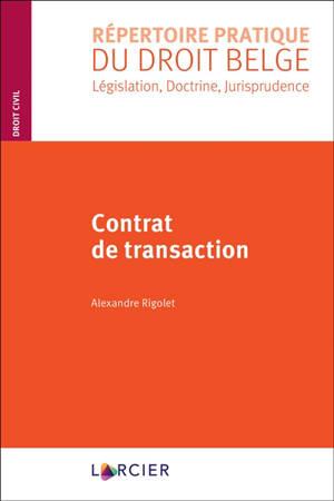 Contrat de transaction