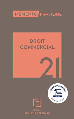 Droit commercial : 2021
