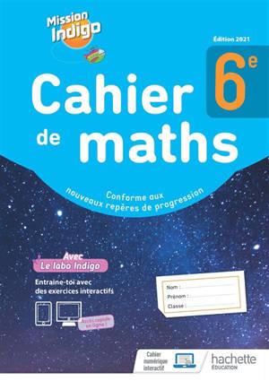 Cahier de maths 6e