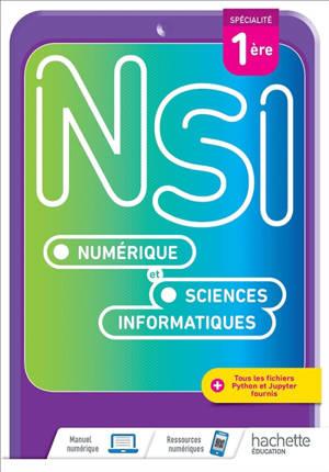 NSI, numérique et sciences informatiques spécialité 1re