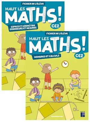 Haut les maths ! CE2 : fichier de l'élève