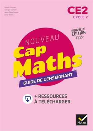 Nouveau Cap maths CE2, cycle 2 : guide de l'enseignant