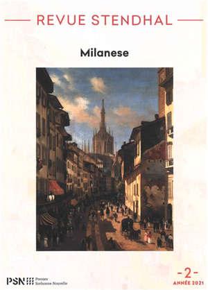 Revue Stendhal. n° 2, Milanese