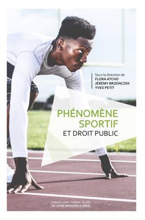 Phénomène sportif et droit public
