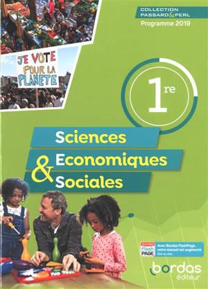 Sciences économiques & sociales 1re : programme 2019