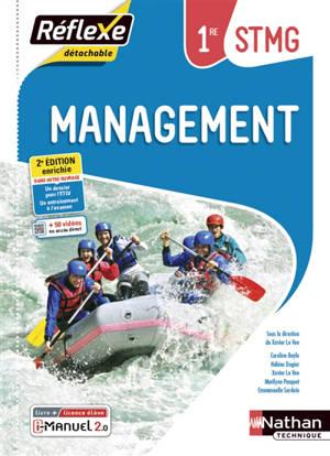 Management 1re STMG : i-manuel 2.0, livre + licence élève