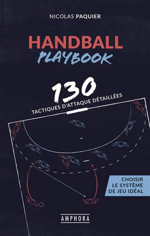 Handball playbook : 130 tactiques d'attaque détaillées : choisir le système de jeu idéal