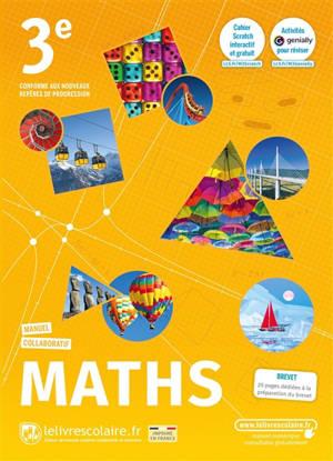 Maths 3e : manuel collaboratif