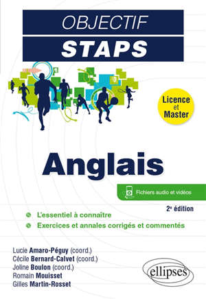 Anglais : licence et master