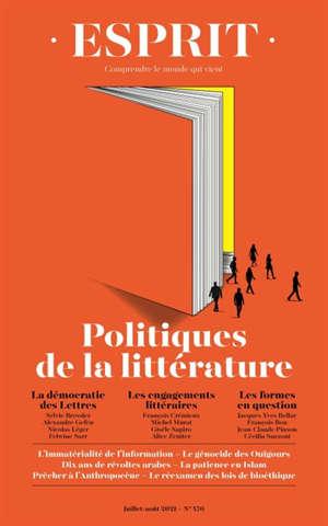 Esprit. n° 476, Politiques de la littérature