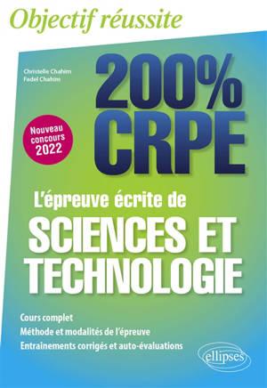 L'épreuve écrite de sciences et technologie : nouveau concours 2022