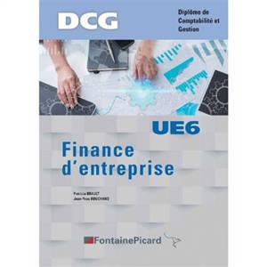 Finance d'entreprise, UE6 : DCG, diplôme de comptabilité et gestion