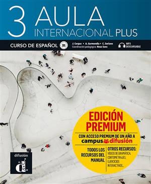 Aula internacional plus 3 : curso de espanol, B1 : MP3 descargable
