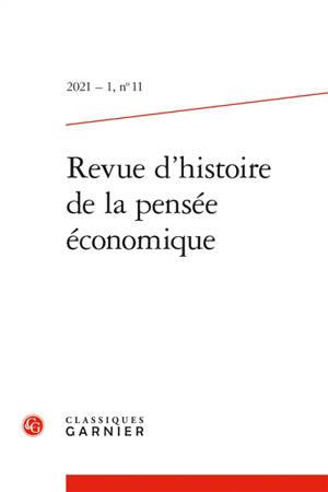 Revue d'histoire de la pensée économique. n° 11