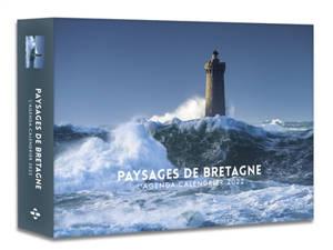 Paysages de Bretagne : l'agenda-calendrier 2022