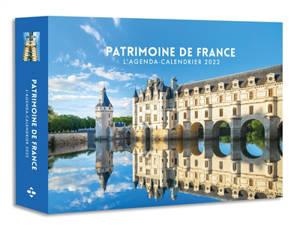 Patrimoine de France : l'agenda-calendrier 2022