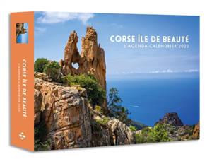 Corse île de beauté : l'agenda-calendrier 2022