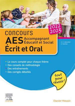 Concours AES, accompagnant éducatif et social 2022-2023 : écrit et oral : tout pour réussir !