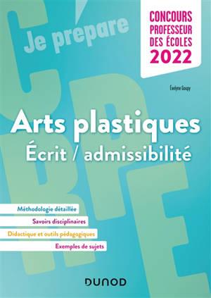Arts plastiques : écrit-admissibilité : concours professeur des écoles 2022