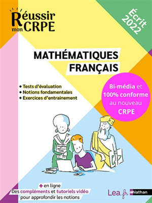 Français et mathématiques : les fondamentaux : CRPE, concours 2022
