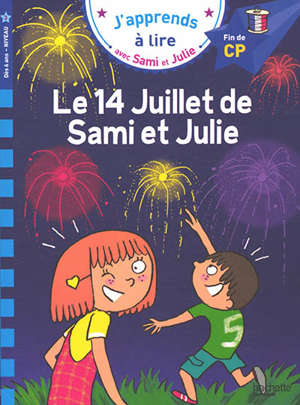 Le 14 juillet de Sami et Julie : fin de CP, niveau 3