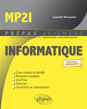 Informatique MP2I : nouveaux programmes