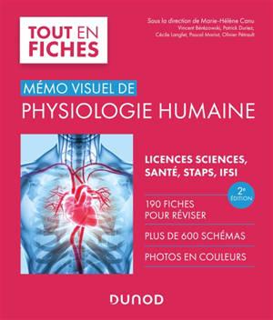 Mémo visuel de physiologie humaine : licences sciences, santé, STAPS, IFSI