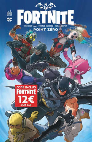 Batman Fortnite point zero