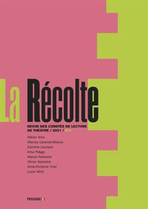 Récolte (La) : revue des comités de lecture de théâtre. n° 3