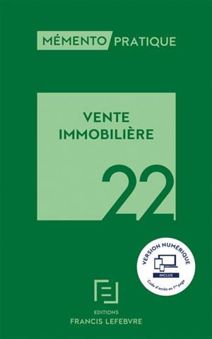 Vente immobilière 2022