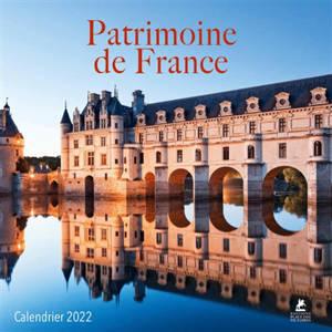 Patrimoine de France : calendrier 2022