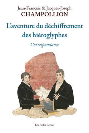 L'aventure du déchiffrement des hiéroglyphes : correspondance