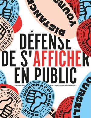 Défense de s'afficher en public