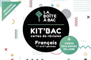 Kit'bac français, 1re et 2nde générale : cartes de révision