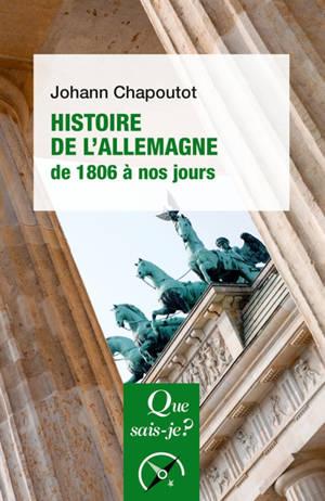 Histoire de l'Allemagne (de 1806 à nos jours)