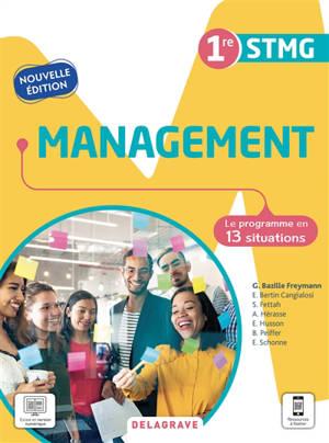 Management 1re STMG : le programme en 13 situations