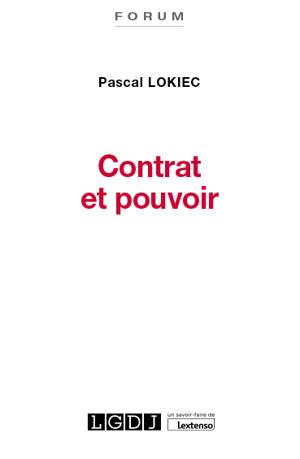 Contrat et pouvoir