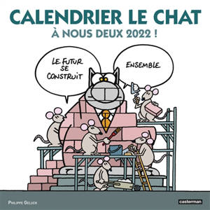 Calendrier Le Chat : à nous deux 2022 !