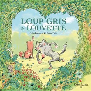 Loup gris & Louvette