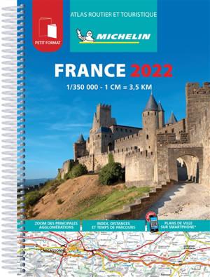 France 2022 : atlas routier et touristique