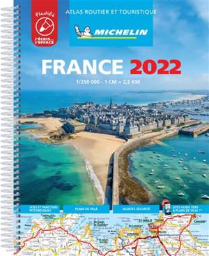 France 2022 : atlas routier et touristique : plastifié