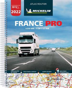 France pro 2022 : atlas routier