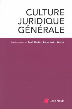 Culture juridique générale
